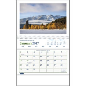 Branded Beautiful America Pocket Calendar