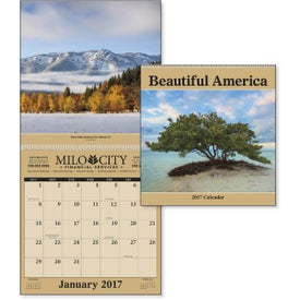 Beautiful America - Executive Calendar for Your Company