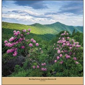 Personalized Beautiful America - Executive Calendar