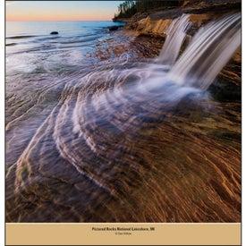 Printed Beautiful America - Executive Calendar