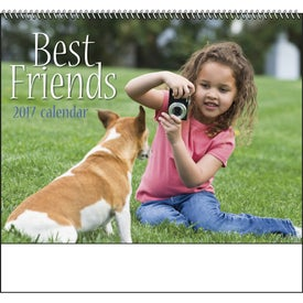 Promotional Best Friends Spiral Calendar