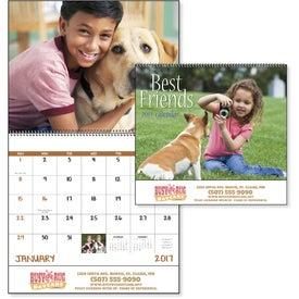 Logo Best Friends Spiral Calendar