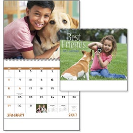 Best Friends Spiral Calendar for Your Company