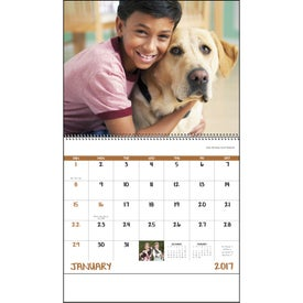Best Friends Spiral Calendar Printed with Your Logo