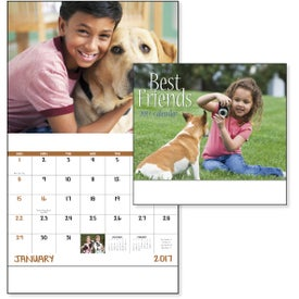 Logo Best Friends Stapled Calendar