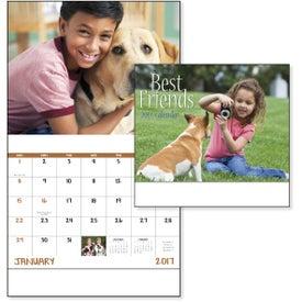 Logo Best Friends Stapled Calendar