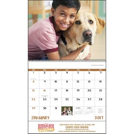 Best Friends Stapled Calendar for your School