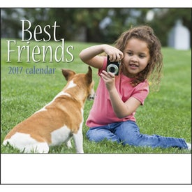 Best Friends Stapled Calendar for Marketing