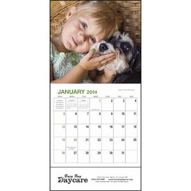 Best Friends - Mini Calendar Branded with Your Logo