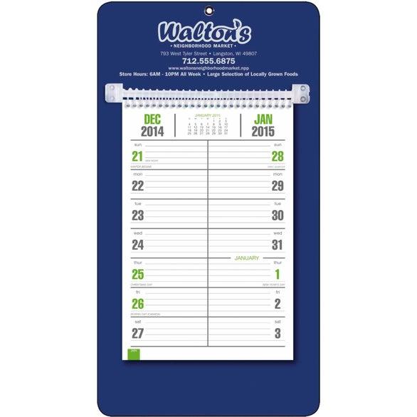 custom weekly calendar