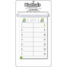 Promotional Bi-Weekly Memo Calendar