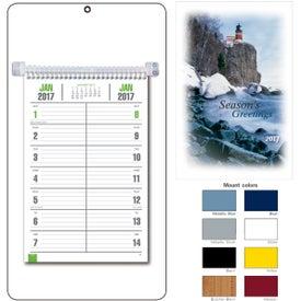 Bi-Weekly Memo Calendar Imprinted with Your Logo