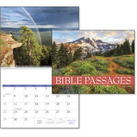 Bible Passages Executive Calendar with Your Logo