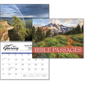 Customized Bible Passages Executive Calendar