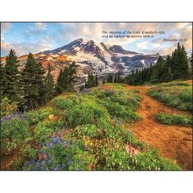 Printed Bible Passages Executive Calendar