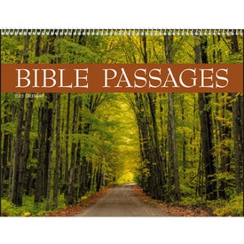 Branded Bible Passages Executive Calendar
