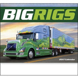 Big Rigs Appointment Calendar for your School