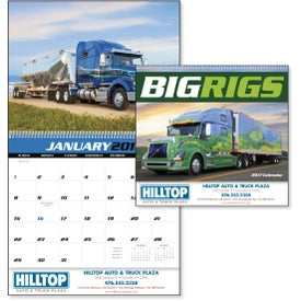 Big Rigs Appointment Calendar for Your Organization