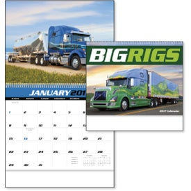 Big Rigs Appointment Calendar for Customization