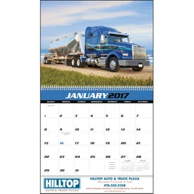 Printed Big Rigs Appointment Calendar