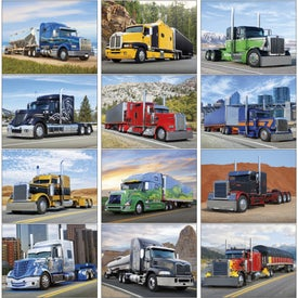 Big Rigs Appointment Calendar with Your Logo