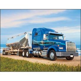 Big Rigs Appointment Calendar Imprinted with Your Logo