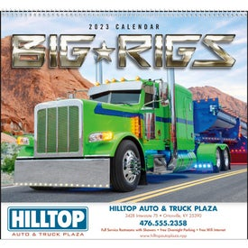 Big Rigs Appointment Calendars (2022)