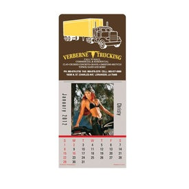Biker Babes Super Size Press N Stick Calendar