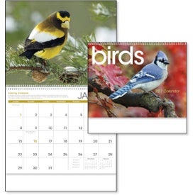Personalized Birds Appointment Calendar