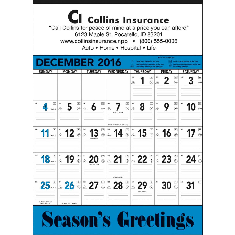 Extra Large 2016 Calendar | Calendar Template 2016