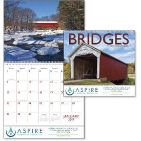 Monogrammed Bridges Appointment Calendar