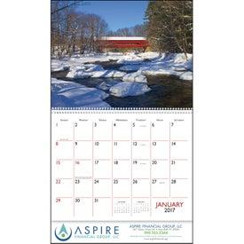 Bridges Appointment Calendar Giveaways