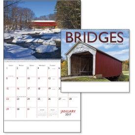 Imprinted Bridges Appointment Calendar