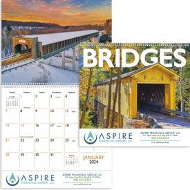 Printed Bridges Appointment Calendar
