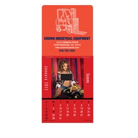 Built in the USA Super Size Press N Stick Calendar