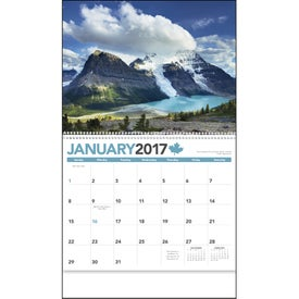 Canada Calendar Branded with Your Logo