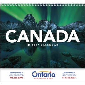 Customized Canada Calendar