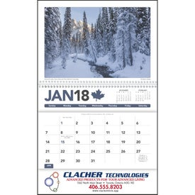 Canadian Scenic Pocket Calendar for Your Company