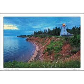 Canadian Scenic Pocket Calendar for Advertising