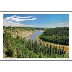 Imprinted Canadian Scenic Pocket Calendar