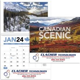 Canadian Scenic Pocket Calendar (2019)
