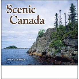 Canadian Scenic - Stapled Calendar Giveaways