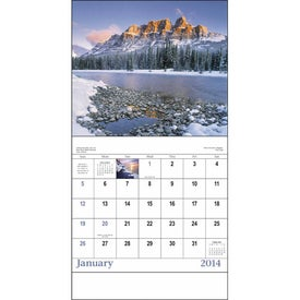 Canadian Scenic - Stapled Calendar for Promotion