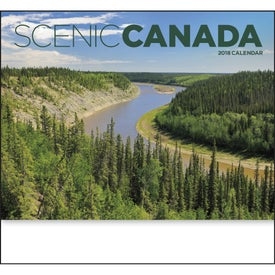 Customized Canadian Scenic - Stapled Calendar