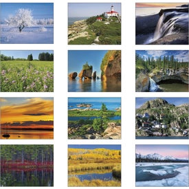 Company Canadian Scenic - Stapled Calendar