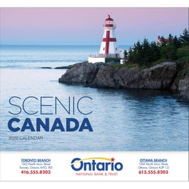 Canadian Scenic - Stapled Calendar (2017)