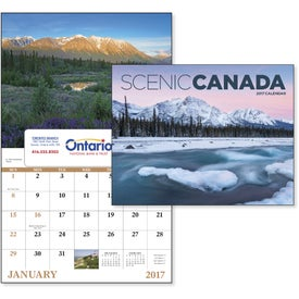 Canadian Scenic - Window Calendar for your School