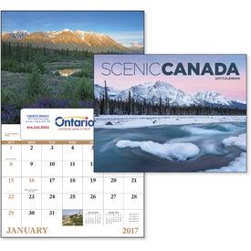 Canadian Scenic - Window Calendar for your School