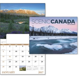 Branded Canadian Scenic - Window Calendar