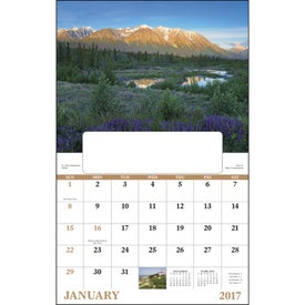 Canadian Scenic - Window Calendar for Your Company